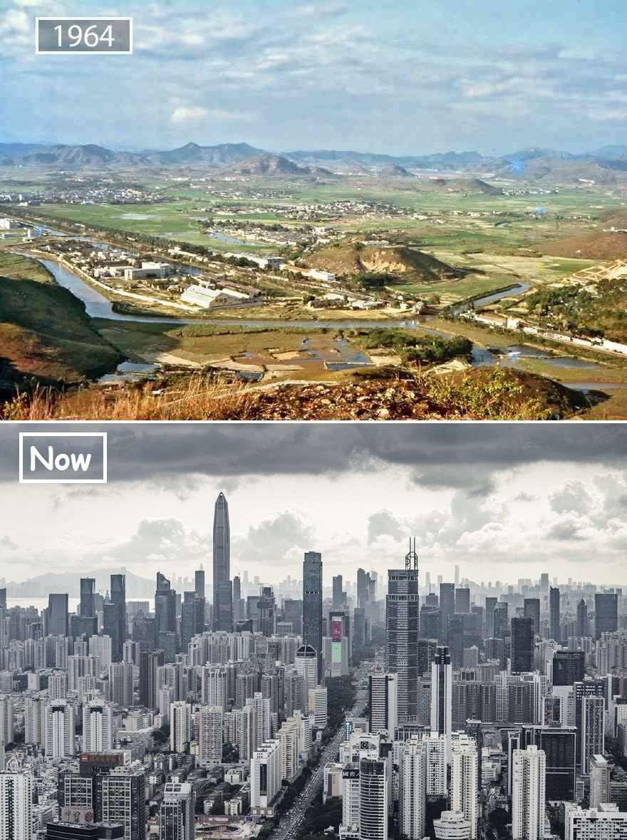 Shenzhen Then And Now