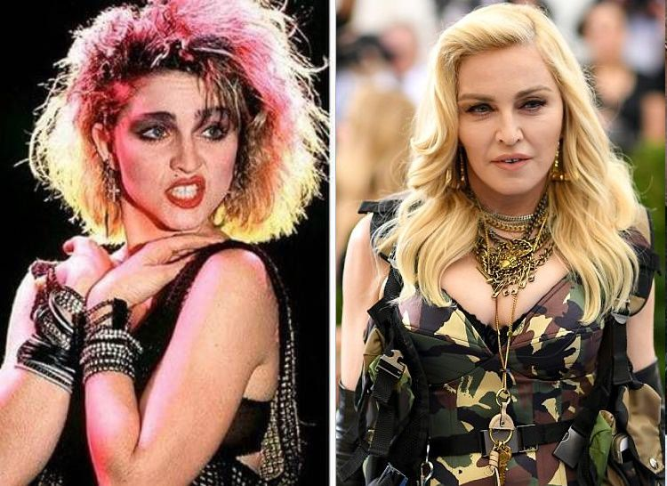 MadonnaThen And Now