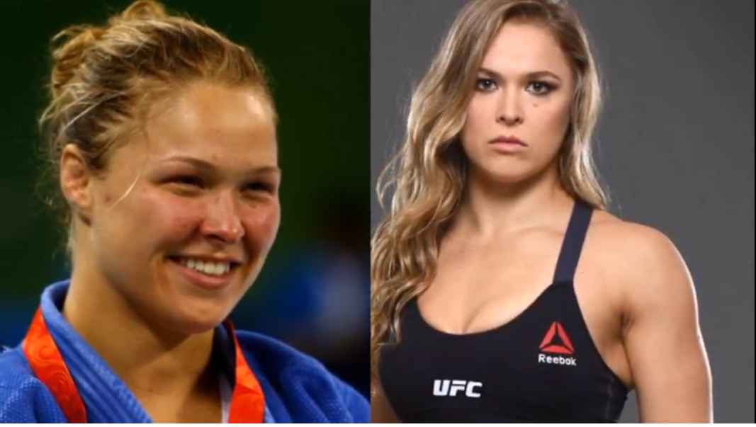 Ronda Rousey Then And Now