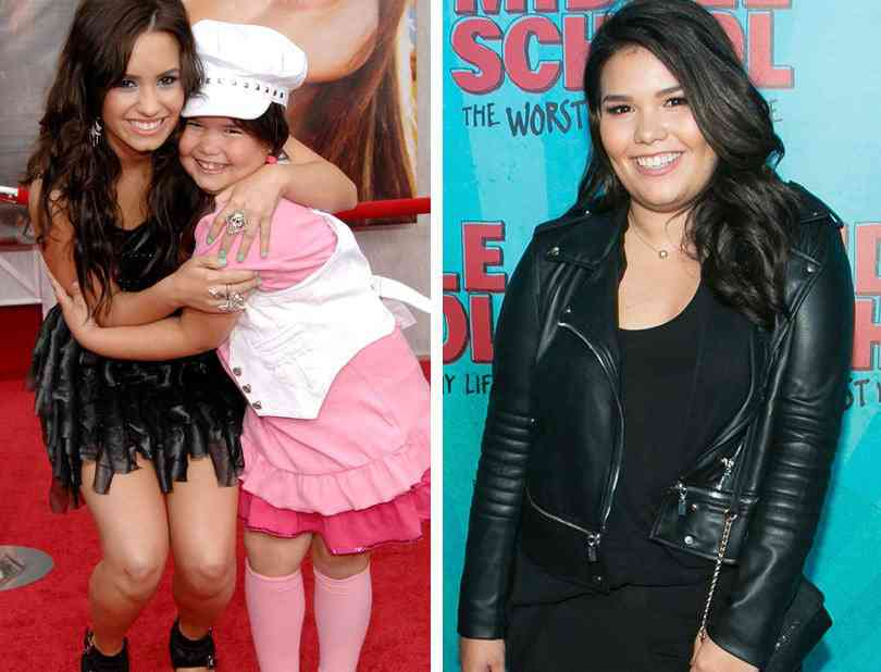 Madison De La Garza Then And Now