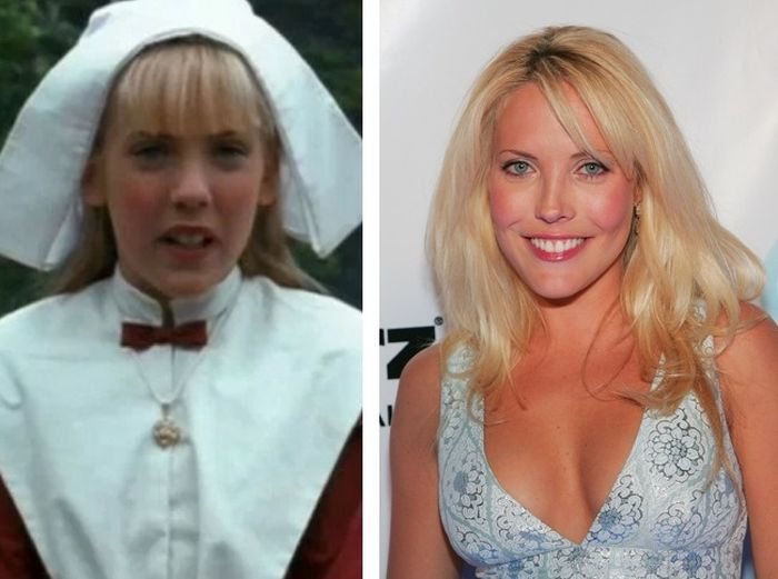 Mercedes McNab Then And Now