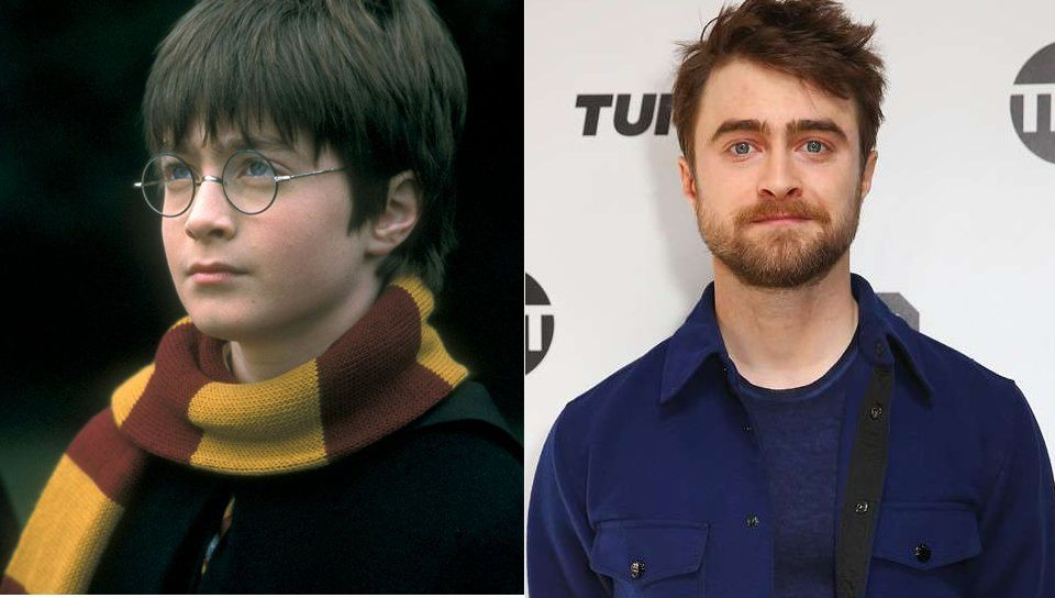 Daniel Radcliffe As Harry Potter Then And Now