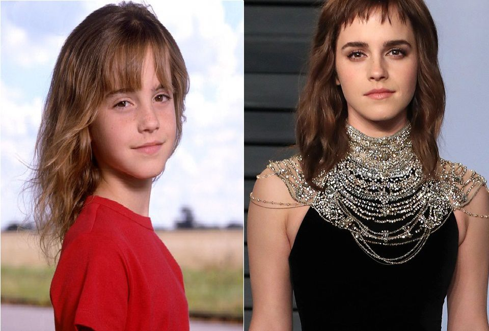 Emma Watson As Hermione Granger Then And Now