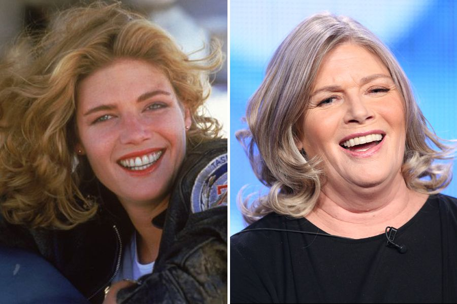 Kelly McGillis (Charlie) Then And Now