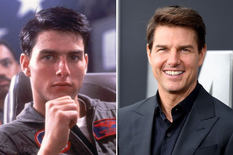 Tom Cruise (Maverick) Top Gun Cast Then And Now