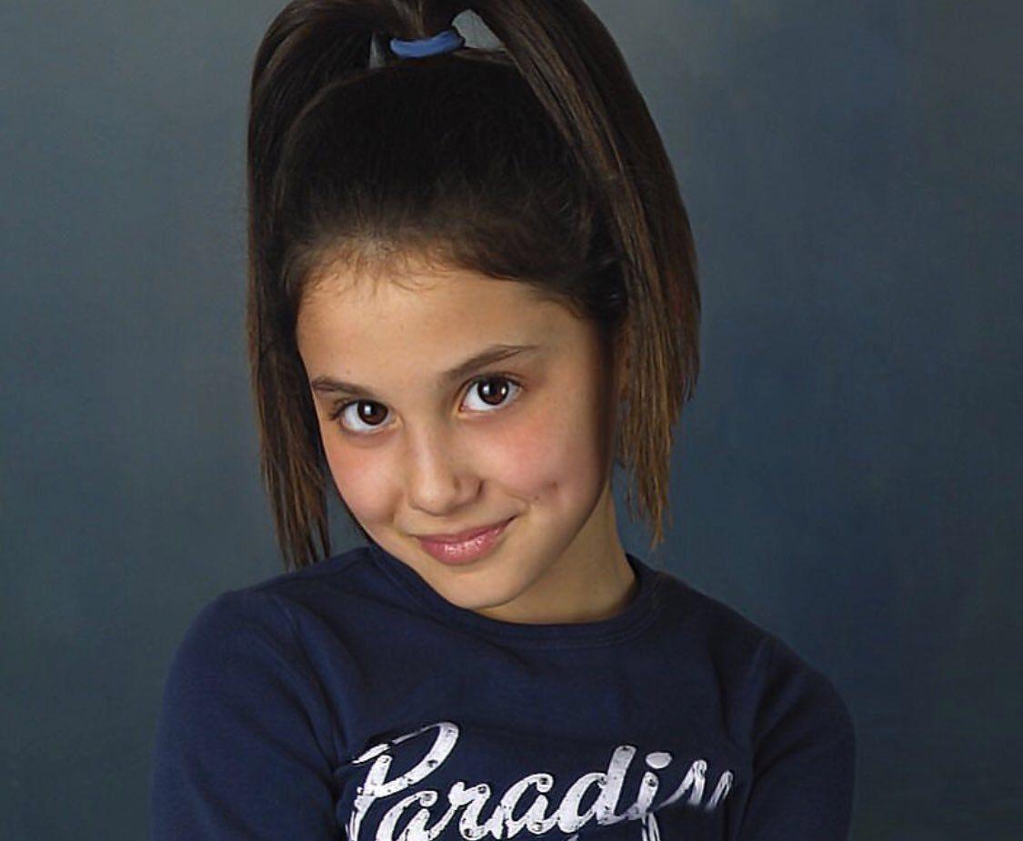 Ariana Grande At Age 10