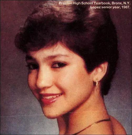 Jennifer Lopez age 18