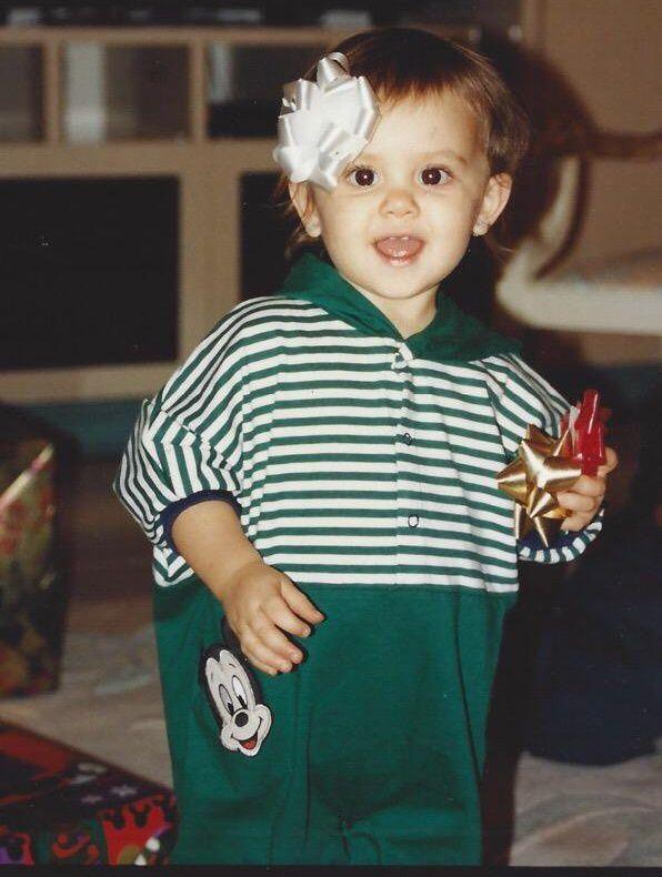 Ariana Grande At Age 3