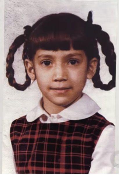Jennifer Lopez age 6