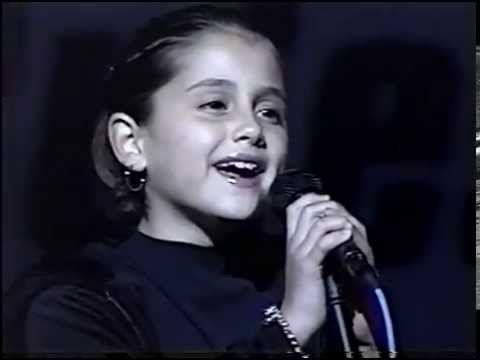 Ariana Grande At Age 8