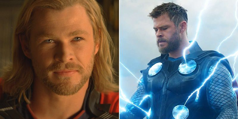 Thor Then And Now