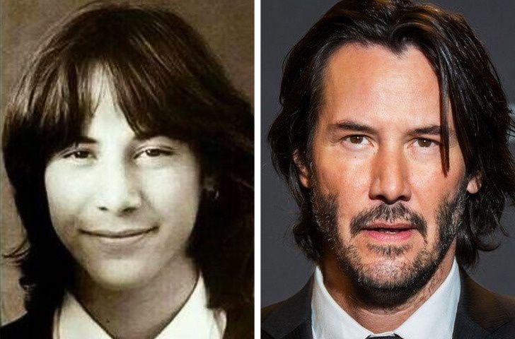 Keanu Reeves In School Life