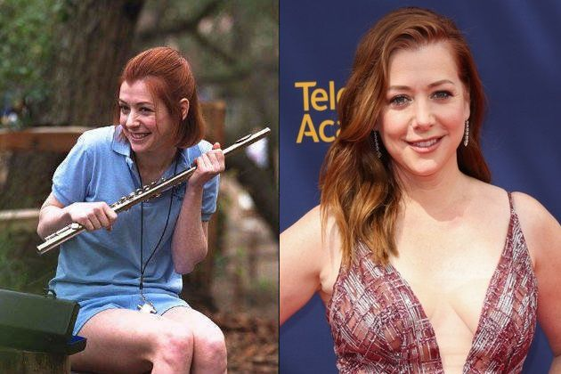 Alyson Hannigan Then And Now