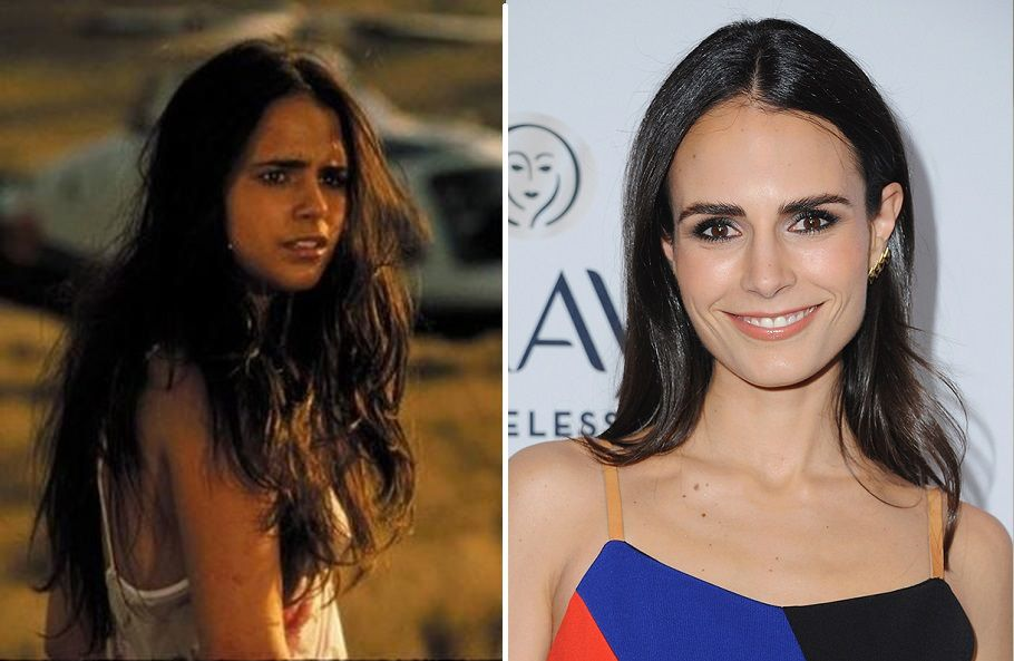 Jordana Brewster Then And Now