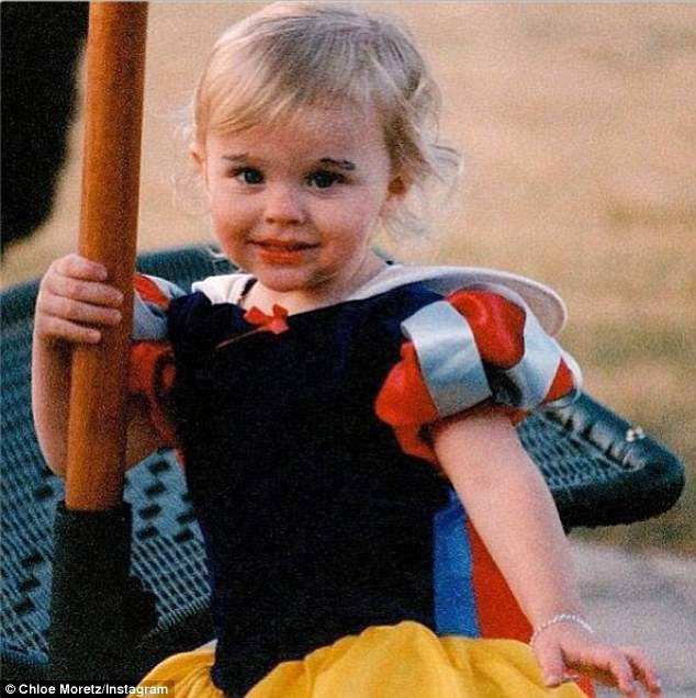 Chloe Grace Moretz Childhood