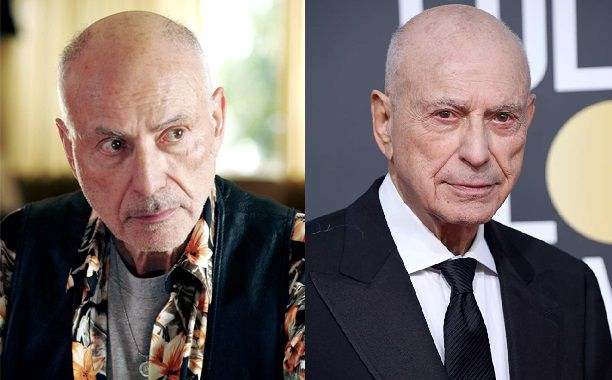 Alan Arkin Then And Now